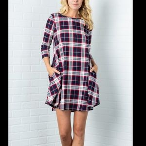 New Without Tags Plaid Dress